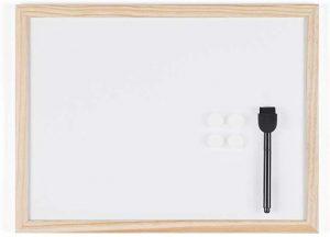 Bi-Office Budget - Tableau Blanc Magnétique, 40 x 30 cm